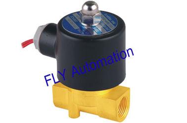 Porcellana orifizio Unid di 24V 4.0mm 2 elettrovalvole a solenoide d'ottone dell'acqua di modo 2W040-10 fornitore