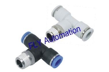 Porcellana Rapido collegare PB Pisco Tee zinco ottone pneumatico Tube Fittings fornitore