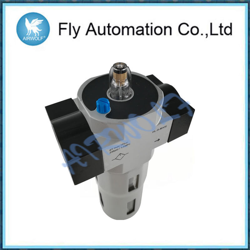 Manual Rotary Air Preparation Equipment G1/2 G3/4 1 Inch Aluminum Alloy Fibre Filter