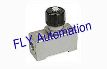 Porcellana Lega di alluminio pneumatica delle valvole di regolazione del flusso d'aria di modo di abitudine AS-02 uno distributore