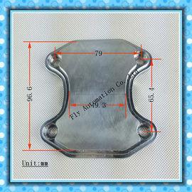 Porcellana Flangia spaccata ad alta temperatura del tubo di scarico dei collettori dei ricambi auto dell'automobile distributore